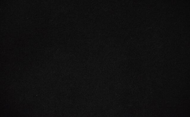 ウール混作務衣 黒 男性用 日本製 生地