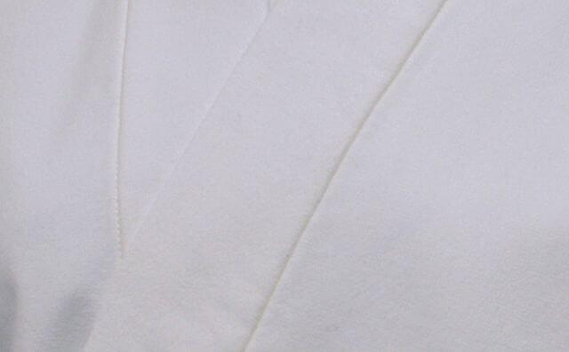 綿ネル作務衣肌着 男性用 日本製 生地