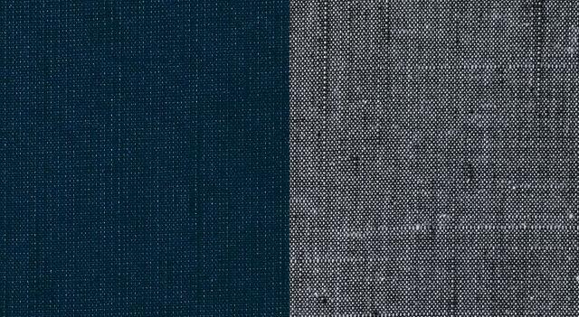正絹紬作務衣 男性用 日本製 生地アップ